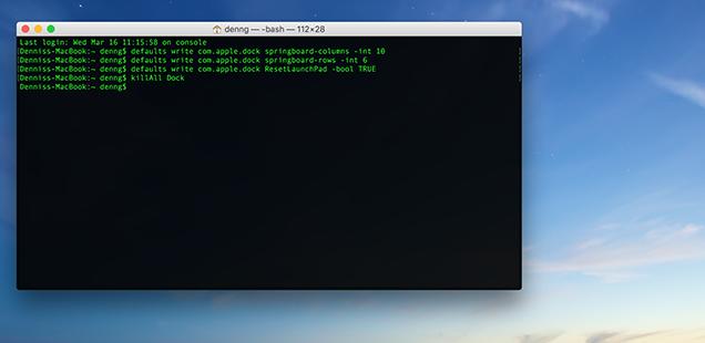 Mac-Schnelltipp: Das Launchpad mit dem Terminal individualisieren